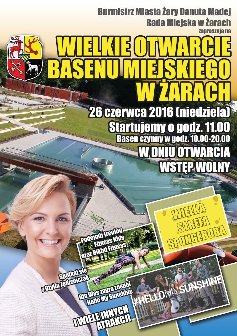 Ilustracja do informacji: Wielkie otwarcie basenu miejskiego w Żarach - galeria zdjęć
