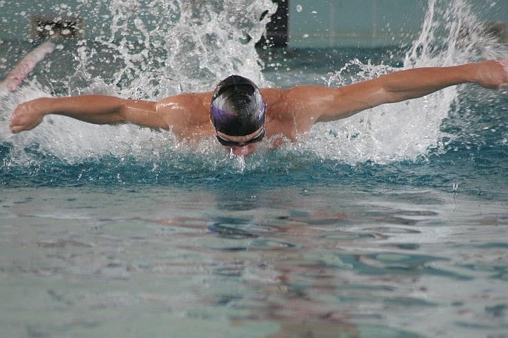 Ilustracja do informacji: Zawody pływackie - galeria zdjęć, wyniki