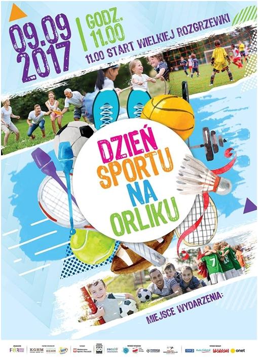 Ilustracja do informacji: Dzień Sportu na Orliku