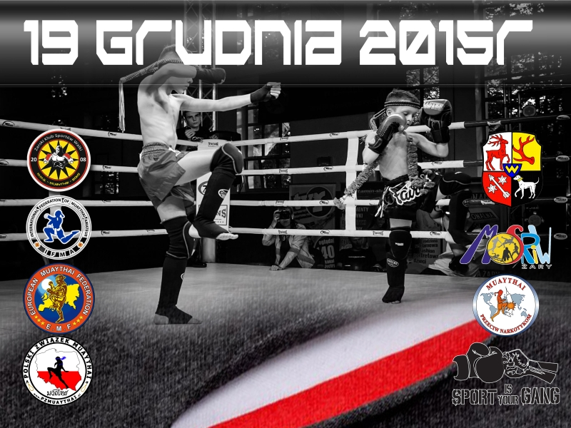 Ilustracja do informacji: Otwarty Puchar Polski Muaythai Kadetów i Dzieci 2015 - Żary - galeria